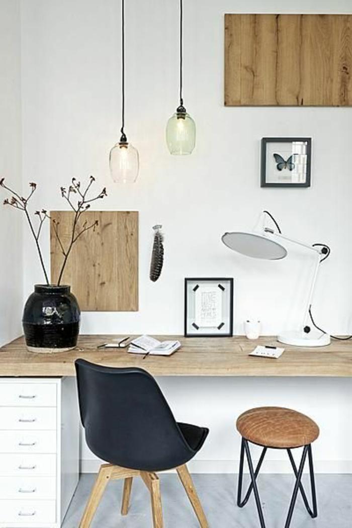 schöne-wohnideen-fürs-Arbeitszimmer-in-skandinavischem-Stil