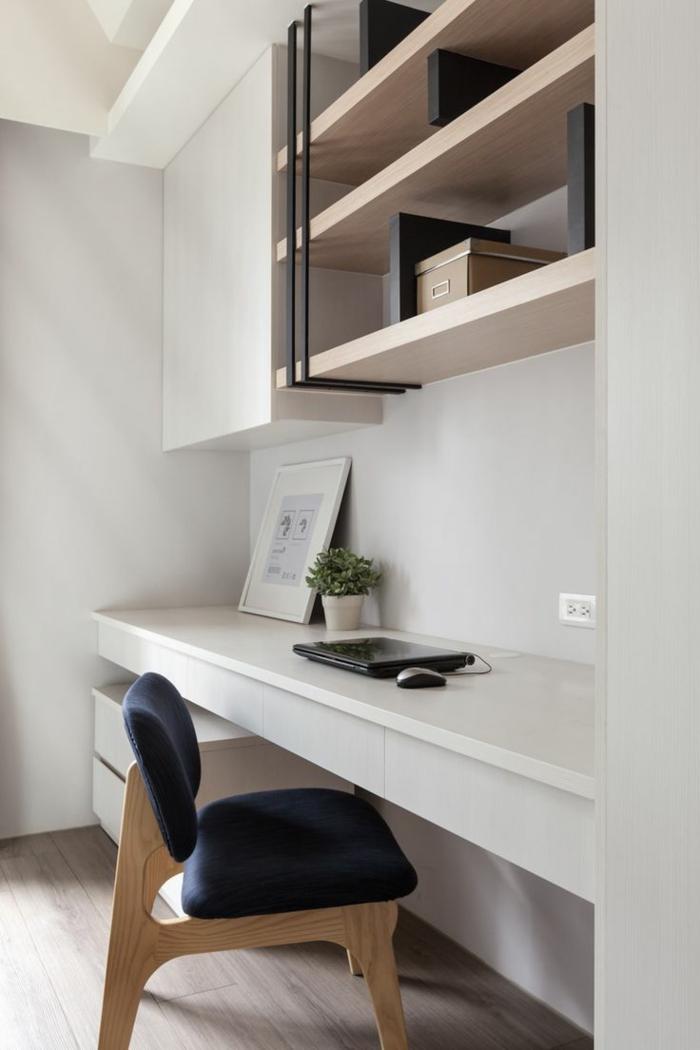 schöne-wohnideen-fürs-Arbeitszimmer-schlichtes-Interieur