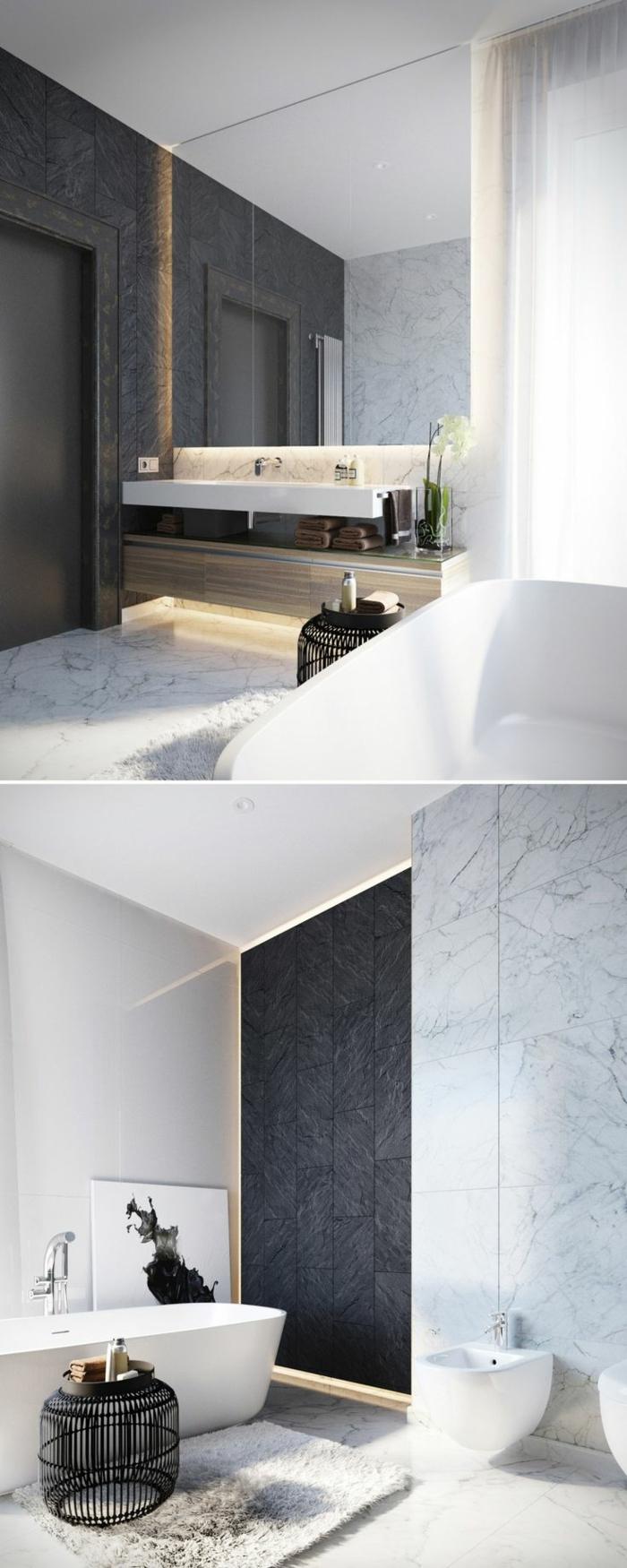40 Fantastische Beispiele Für Designer Badezimmer ...