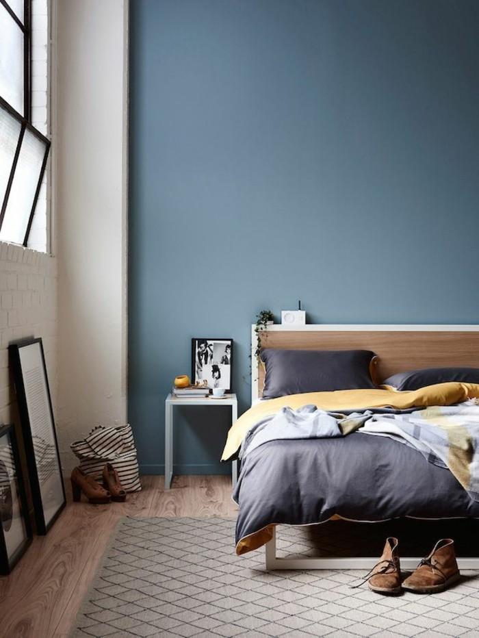 Beere Wand Schlafzimmer