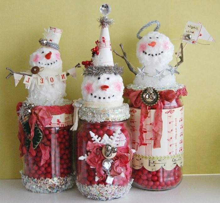 selbstgemachte-geschenke-zum-weihnachten-super-interessante-kleine-schneemänner