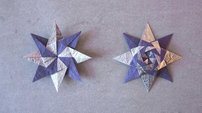 sterne-falten-aus-papier-unikale-idee-für-weihnachten