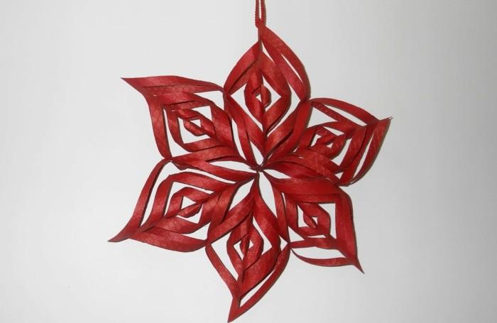sterne-falten-aus-papier-wunderschönes-rotes-modell