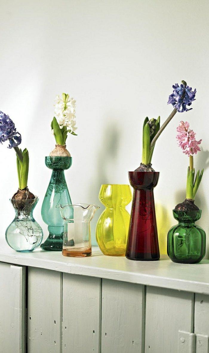 Glasvasen-Deko-verschiedene-blumenvasen-glas-mit-feinem-Design