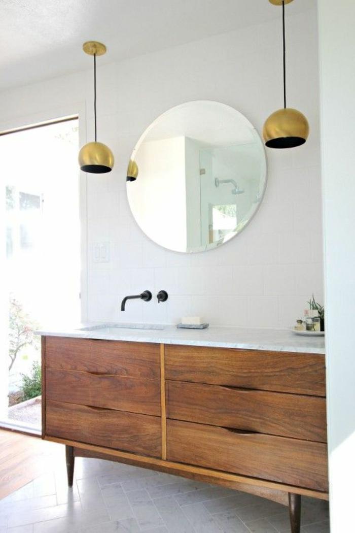 Badezimmer unterschrank holz schubladen das beste aus for Badezimmereinrichtung holz