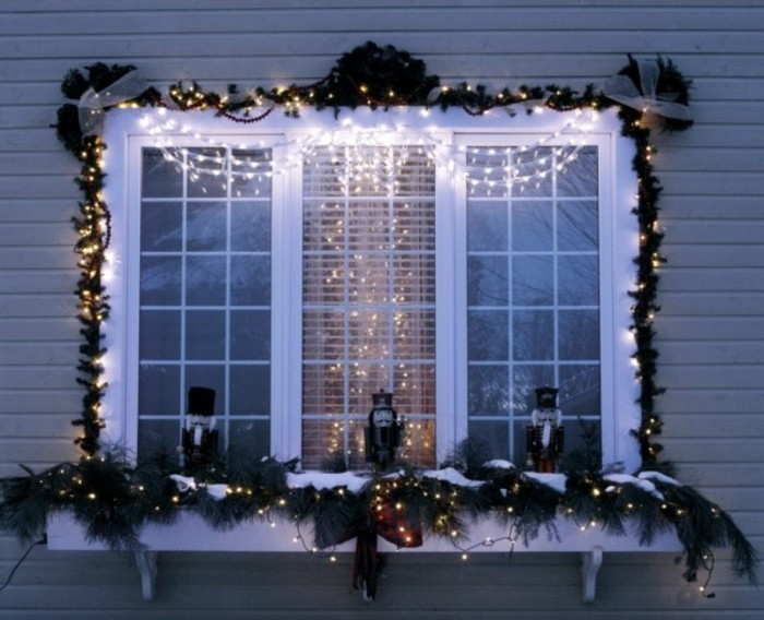 Window decoration for Christmas: 104 new ideas!