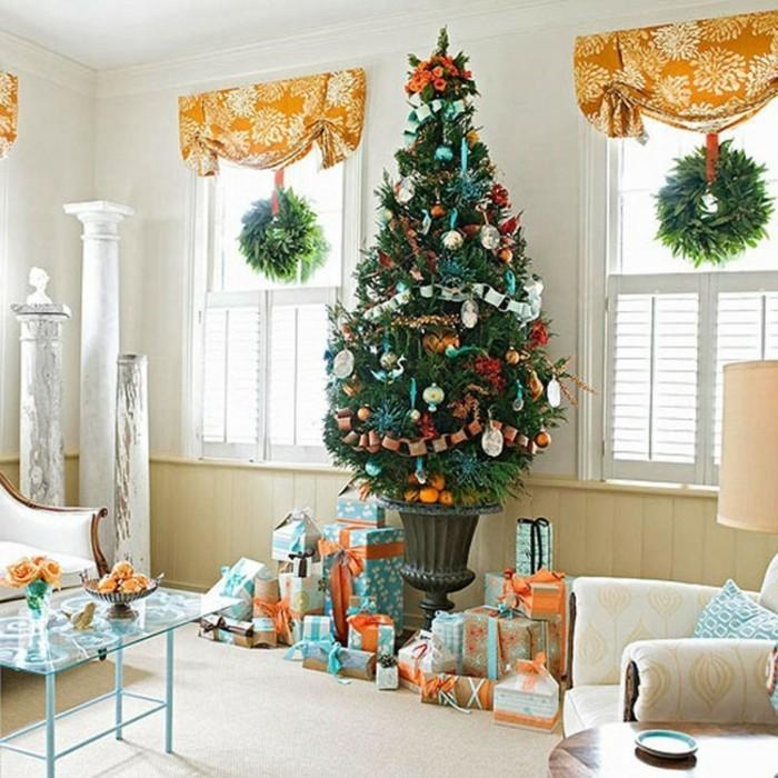 weihnachts-fensterschmuck-wunderschöner-weihnachtsbaum