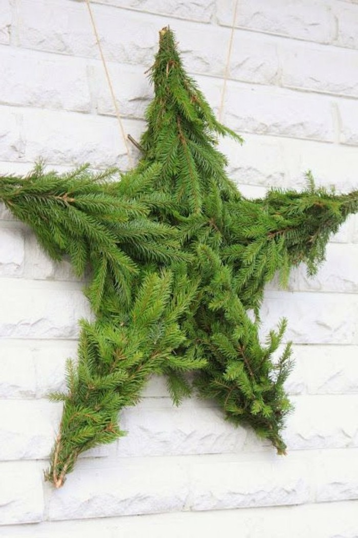 weihnachtsbastelideen-super-schöner-stern-in-grün