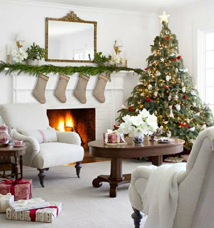 Weihnachtsbaum schm cken 40 einmalige bilder zum fest for Weihnachtsbaum deko ideen