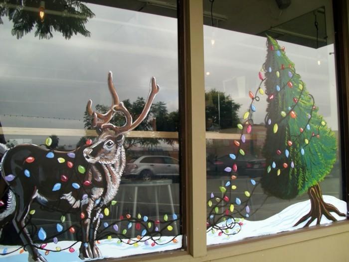 weihnachtsdeko-basteln-fenster-wunderschöne-winterliche-figuren