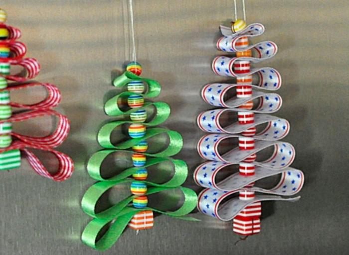 charmant Weihnachtssachen Zum Selber Basteln Part - 15: weihnachtsdeko-selber-bauen-bunte-farben