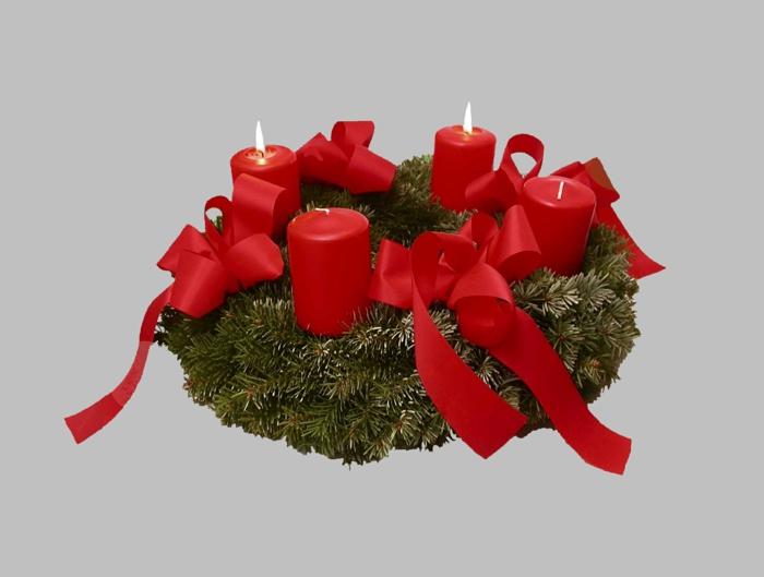 106 atemberaubende adventskranz ideen - Scha ne weihnachtsdeko selber machen ...