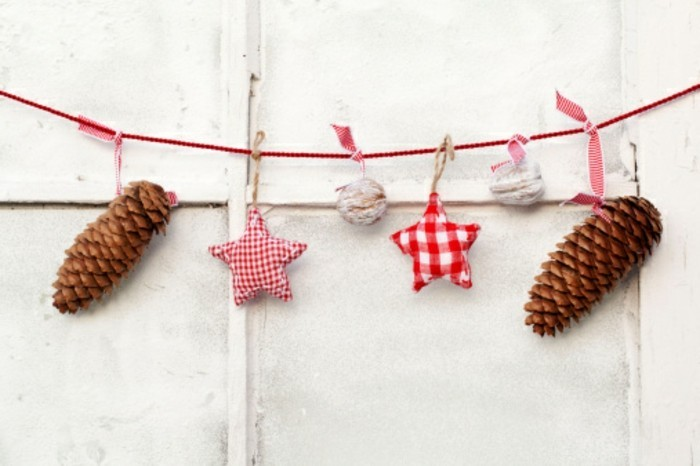 tolle dekoration - wunderschöne idee zum selbermachen zum weihnachten