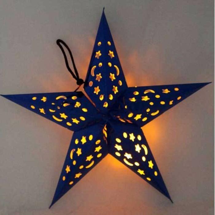 weihnachtsgeschenke-basteln-leuchtendes-modell-stern