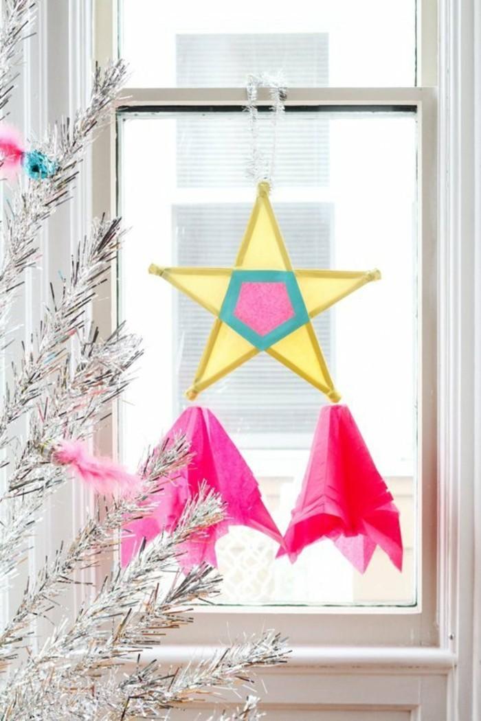 weihnachtsgeschenke-basteln-sehr-schöner-stern-am-fenster
