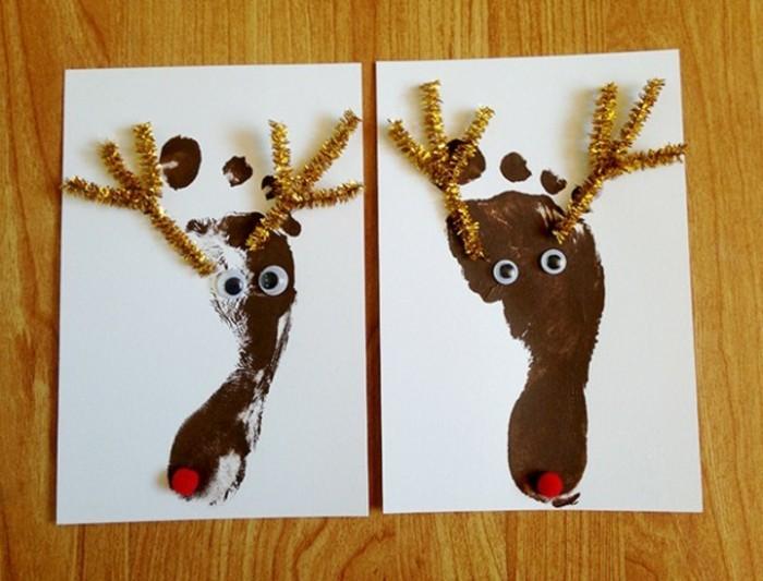 weihnachtsgeschenke-selber-basteln-damhirsch-weihnachtskarte