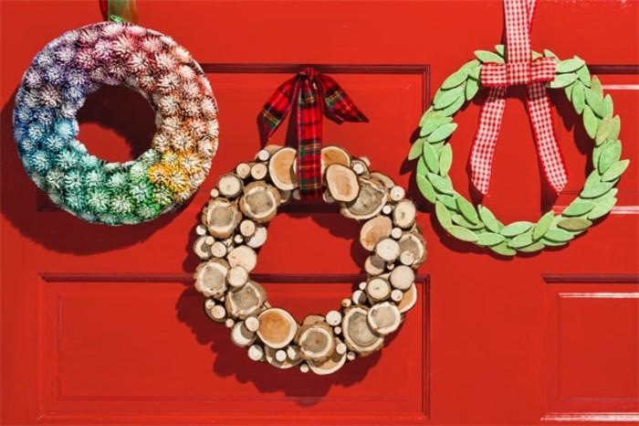 weihnachtsgeschenke-selber-basteln-diy-kränze-zum-hängen