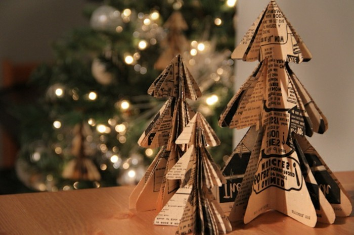 weihnachtsgeschenke-selber-basteln-kleine-diy-weihnachtsbäume