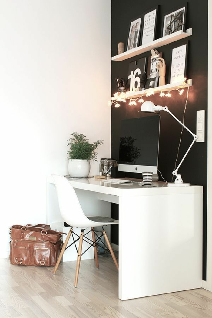 42 kreative und praktische einrichtungsideen f rs arbeitszimmer. Black Bedroom Furniture Sets. Home Design Ideas