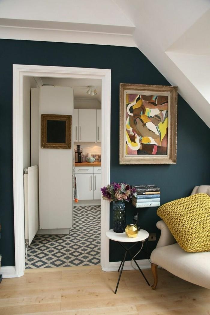 Wunderbar 45 Super Ideen Für Farbige Wände ...