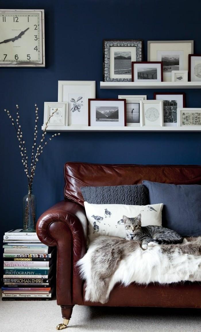 Wohnzimmer blau gestalten – dumss.com