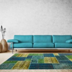 Der Patchwork Teppich - ein echtes Kunstwerk!