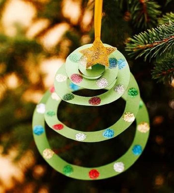 Kindergarten Ornament Crafts Christmas