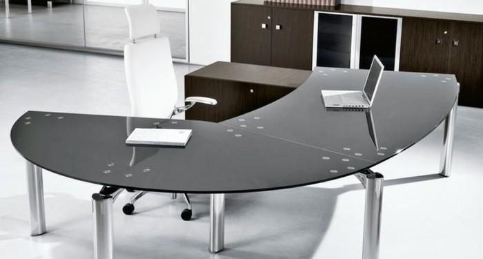 Büromöbel-besprechung stisch-glas-tischplatte