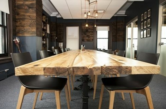 Büromöbel-besprechung stisch--holz-und-rustikal