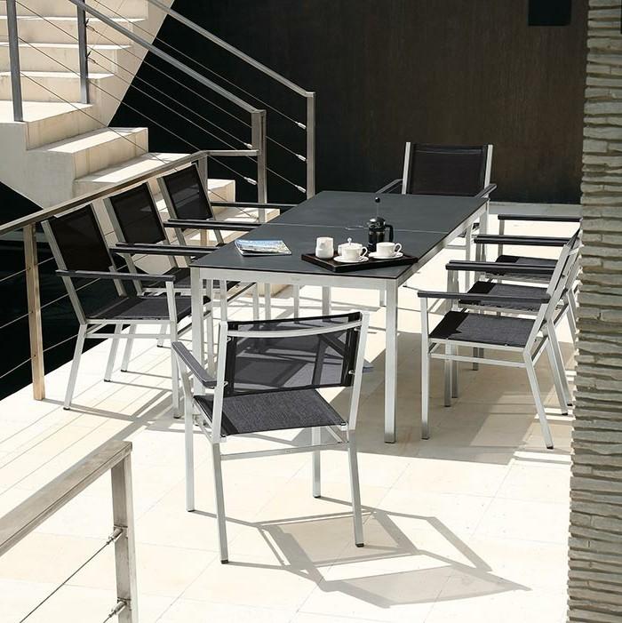 Büromöbel-besprechung stisch--treppen-und-stühle