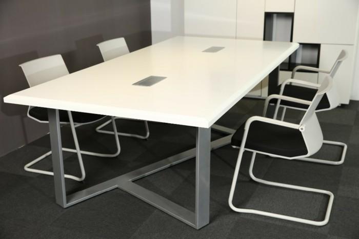 Büromöbel-besprechung stisch-weiß-groß