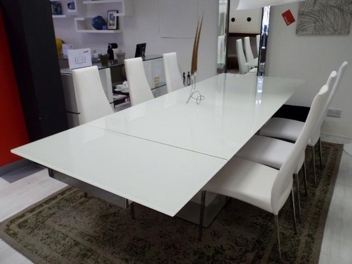 Büromöbel-besprechung stisch-weiß-und-weiße-Sühle