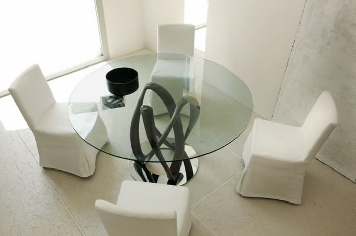 Büromöbel-konferenztisch-runder-tisch-glastischplatte
