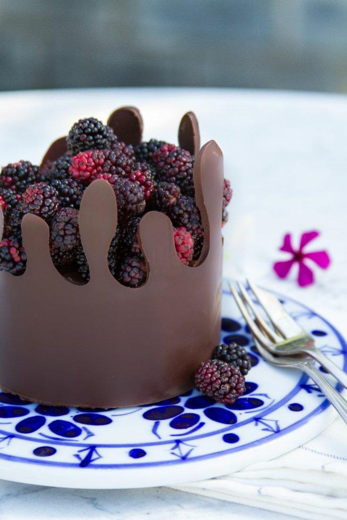 Bester-Schokoladen kuchen-schön
