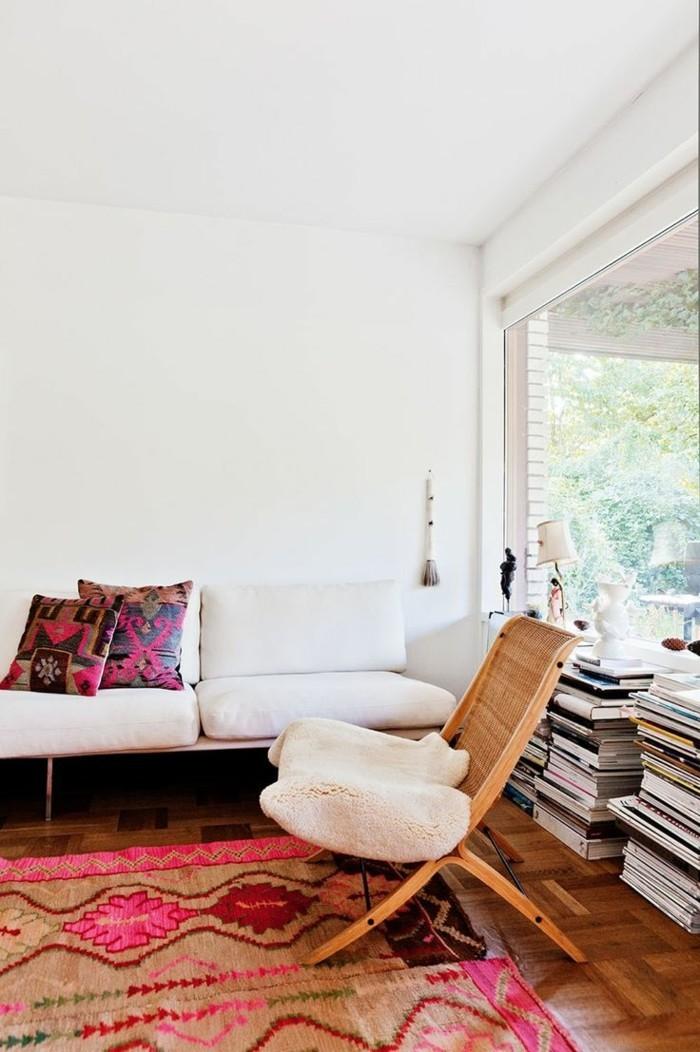 Camping-Klappstuhl-rattan-weiß-sofa