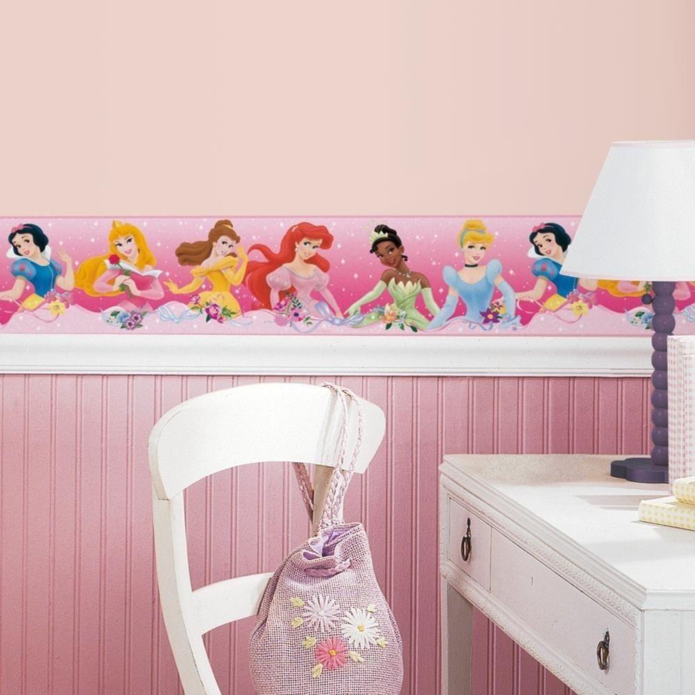 Dekoration-für-Kindrzimmer-mit-Disney-Prinzessinnen