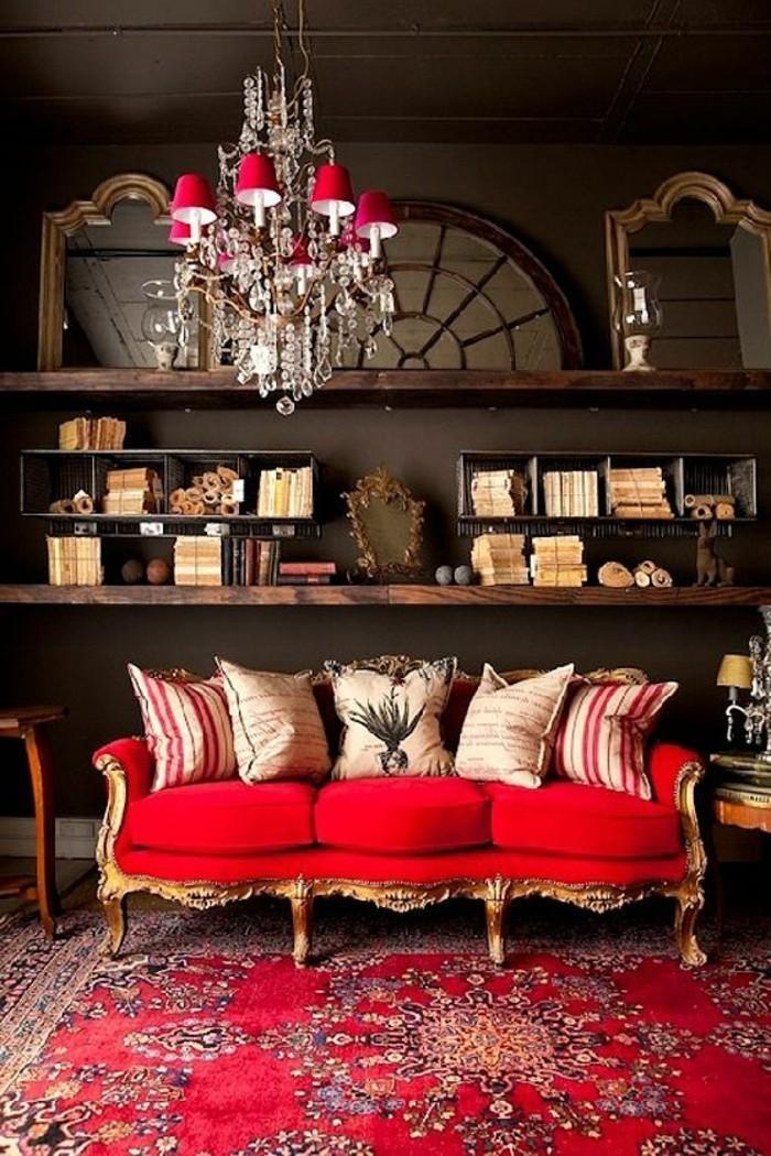 Rotes sofa 80 fantastische modelle for Sofa orientalisch