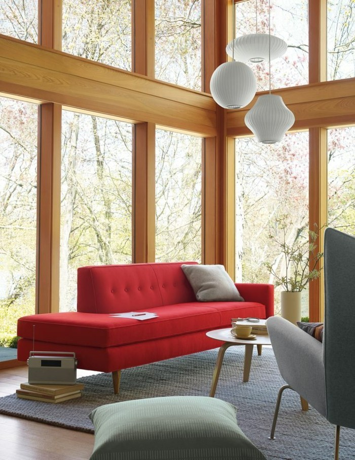 rotes sofa 80 fantastische modelle archzinenet