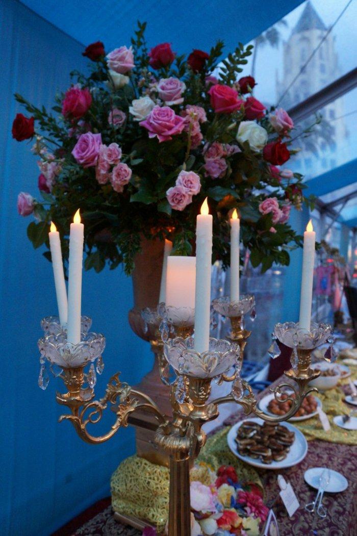Hochzeitsdekoration-wie-im-Aschenputtel-Film