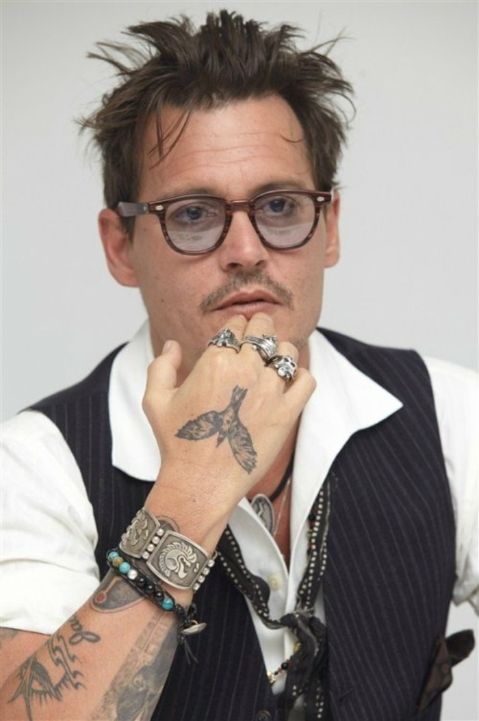 Johnny-Depp-viele-Tattoo-Ideen