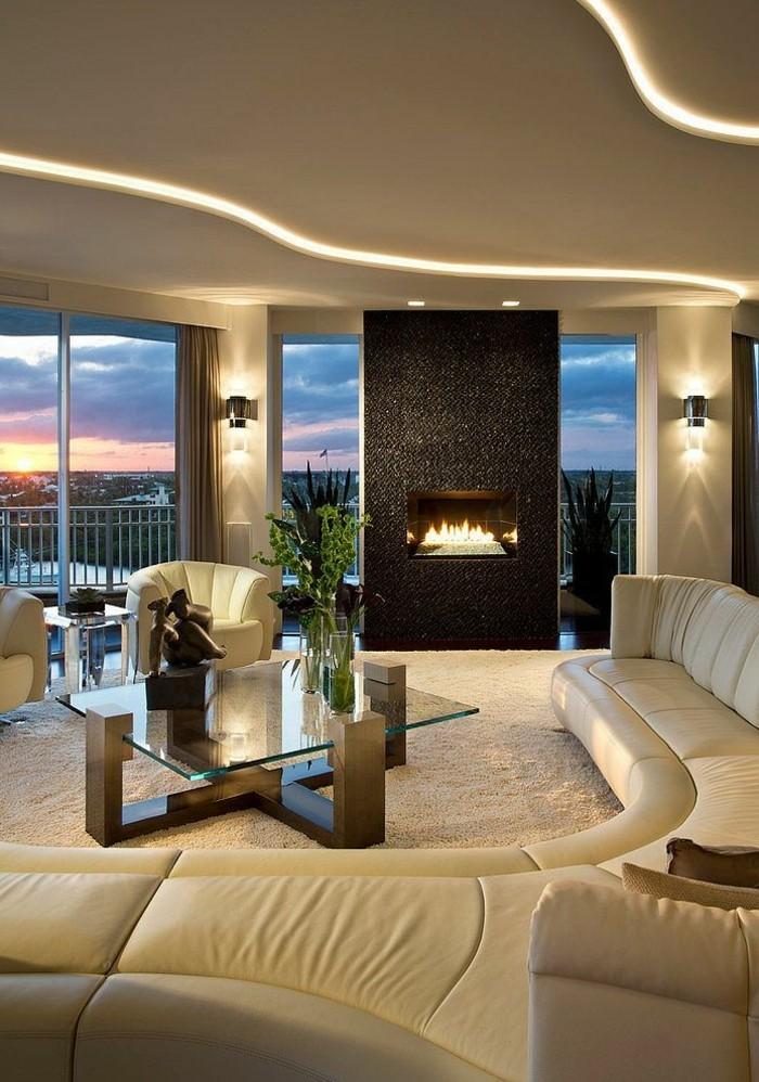 Kamine-modernes-wohnzimmer