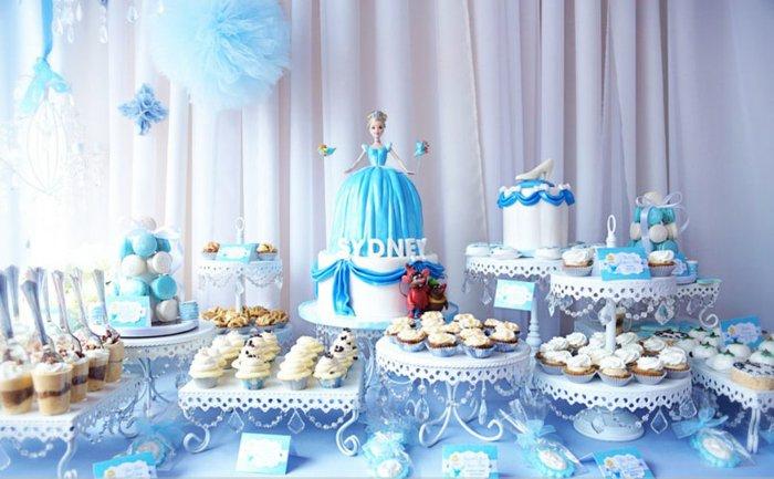 Kinder-Geburtstagsparty-für-Mädchen-Aschenputtel-Thema