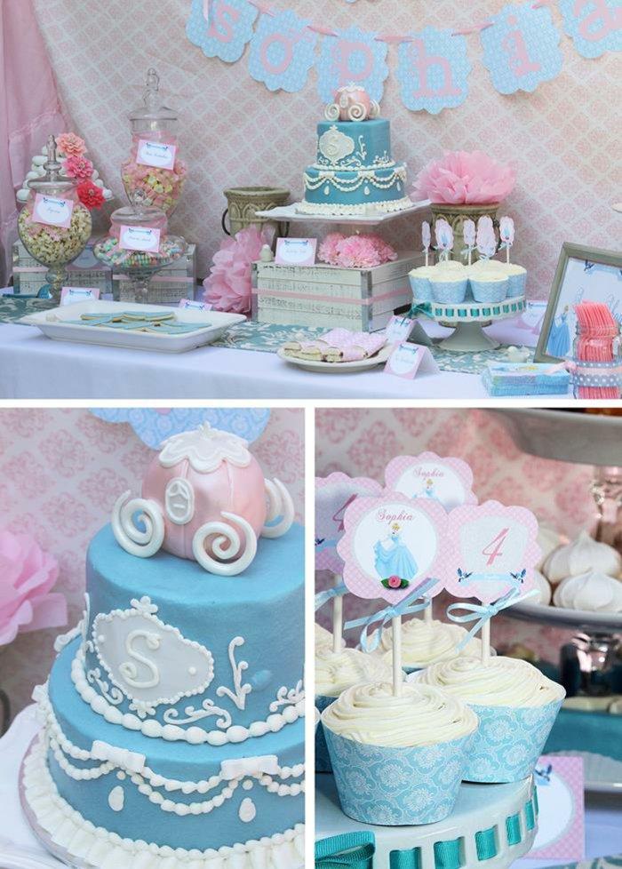Kinder-Geburtstagsparty-inspiriert-vom-Cinderella-Märchen