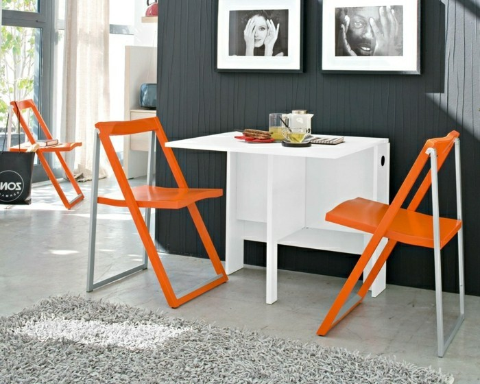 Klappstuhl-Camping.modernes-orange
