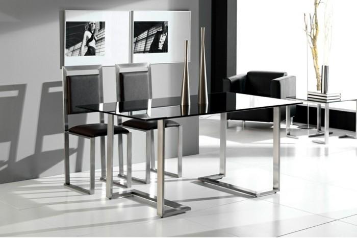 Konferenztische-modern-glas-tischplatte-mettal