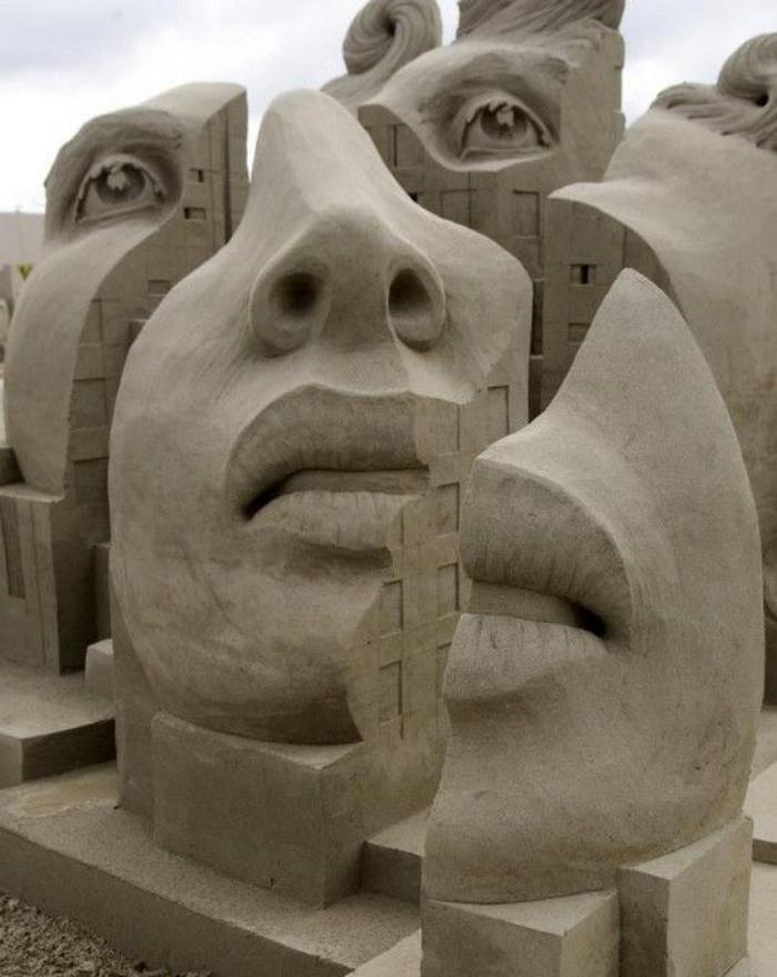 Moderne Kunst Skulpturen 80 moderne skulpturen aus sand - archzine