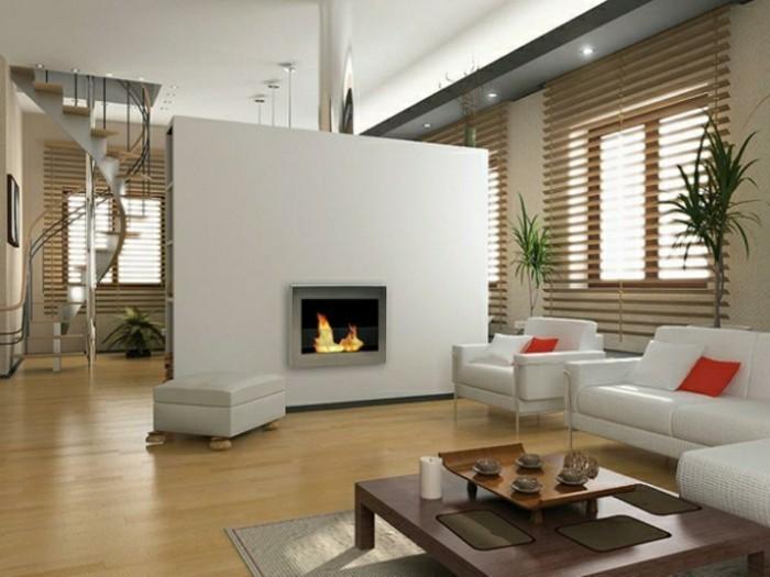 Chestha.com | Trennwand Kamin Design