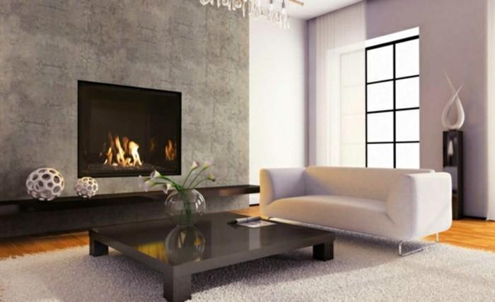 Modern-Kaminan-der-wand-weiss-sofa