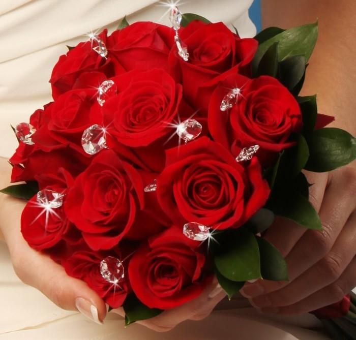 Rosen strauß-verschicken-und-brautstrauß