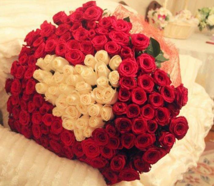 rosenstrau f r ein valentinstag in rot. Black Bedroom Furniture Sets. Home Design Ideas